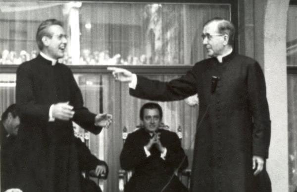 Mons. Pedro Casciaro e São Josemaria Escrivá