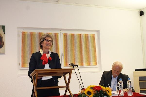 Elisabeth András, Stiftungsratspräsidentin der von Toni gegründeten Limmat Stiftung