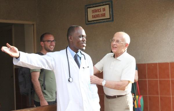 Manuel Lago and Dr. Konan