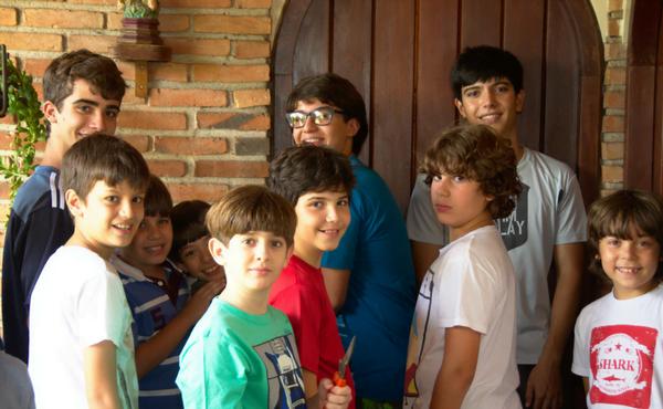 Alguns sócios do Clube Itacolmy.