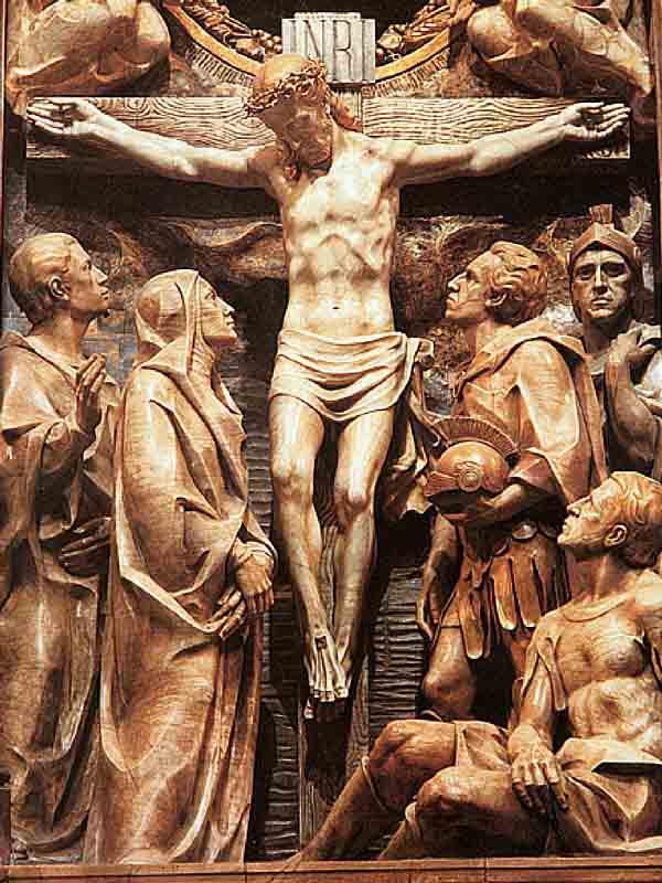 Agora Cristo acha-se mais perto que nunca do momento da Ressurreição, da manifestação da glória que conquistou com a sua obediência.