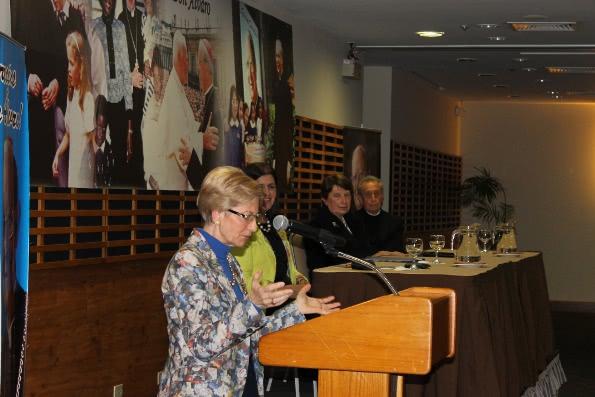 Dra. María Ángeles Vitoria, profesora de Filosofía de la Ciencia de la Pontificia Universidad de la Santa Cruz.