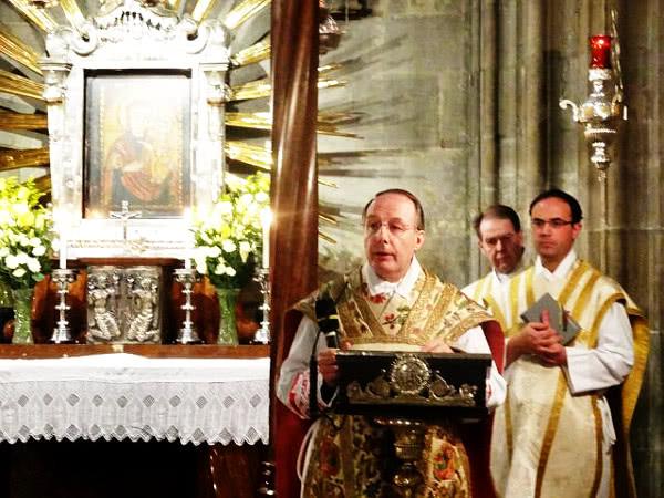 Gnadenaltar Maria Pötsch im Wiener Dom St. Stephan