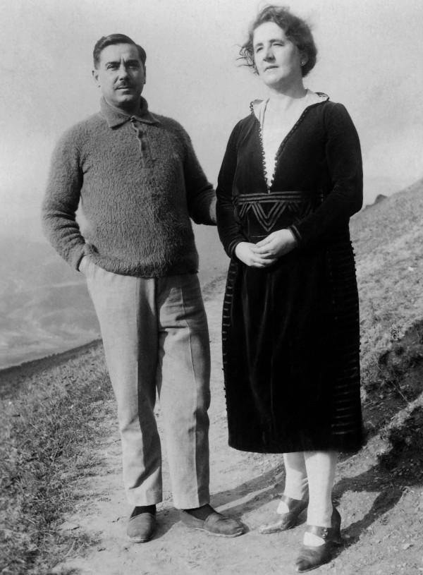 Manolo ed Eulogia, i genitori di Guadalupe Ortiz de Landázuri.