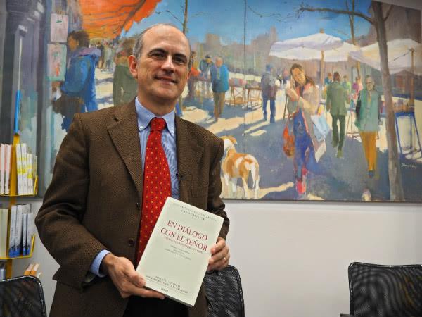 """Luis Cano, historiador y coordinador de la edición histórico-crítica de """"En diálogo con el Señor""""."""