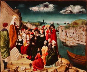 Le prêche de Madeleine à Marseille (Musée du Vieux-Marseille)