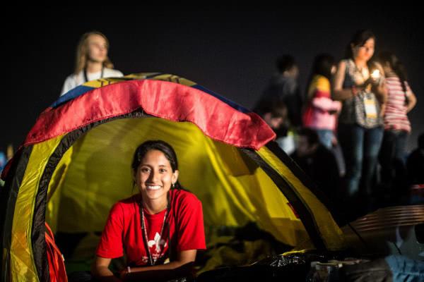 «Soy universitaria y mi meta es ser una buena pediatra para defender la cultura de la vida pues sin derecho a nacer no existe ningún otro derecho humano», dice Pamela. Fotografía: Ismael Martínez Sánchez.