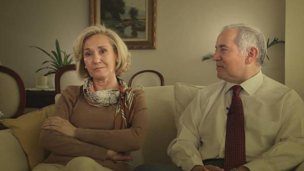 Veías cómo se miraban después de 40 años de matrimonio y...