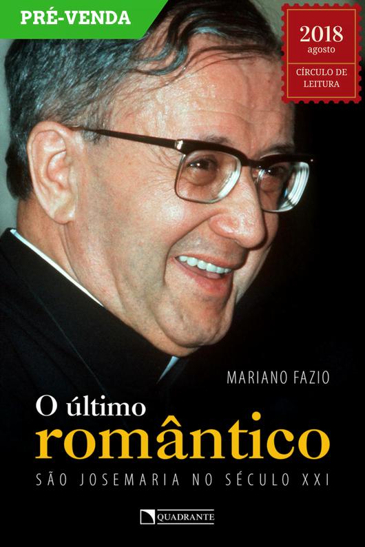 """Capa do livro """"O último romântico"""""""