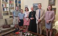 Il prelato in Francia (1 - 5 agosto)