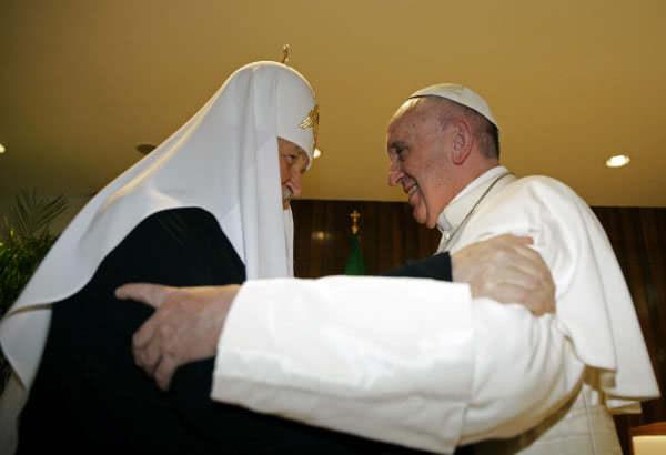 El Papa Francisco y el patriarca ortodoxo ruso Cirilo llamaron a restablecer la unidad del cristianismo desde La Habana el pasado mes de febrero.