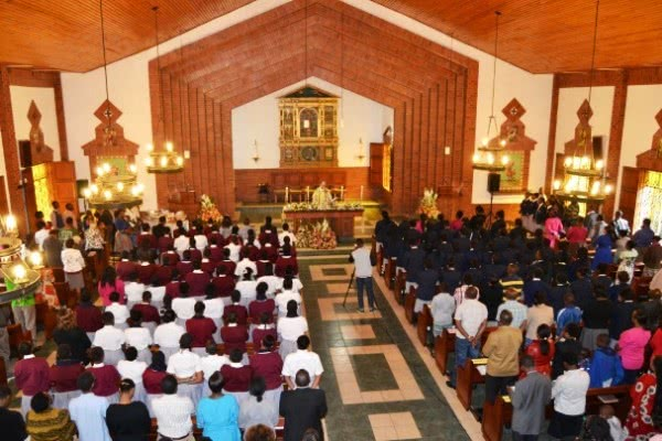 Mass of Thanksgiving held at the school to celebrate 40 years