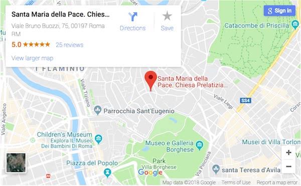 Hacer clic para ver la ubicación de la iglesia en Google Maps
