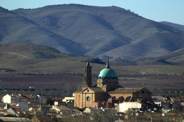 Vista de La Almunia de Doña Godina, provincia de Zaragoza.