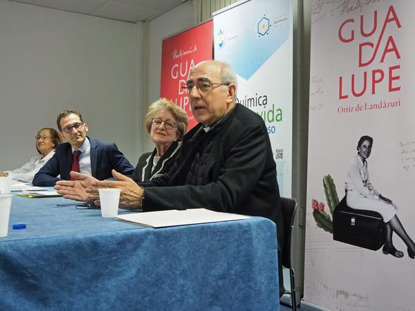 José Carlos Martín de la Hoz resaltó que Guadalupe transformaba los ambientes donde vivía y trabajaba