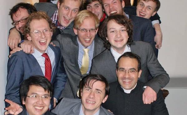 Enkele inwoners van Leidenhoven College.