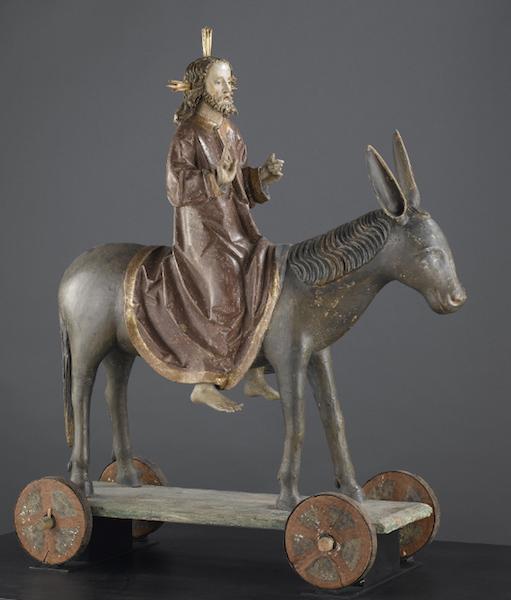 Entrée du Christ à Jérusalem (musée de Cluny, Paris)
