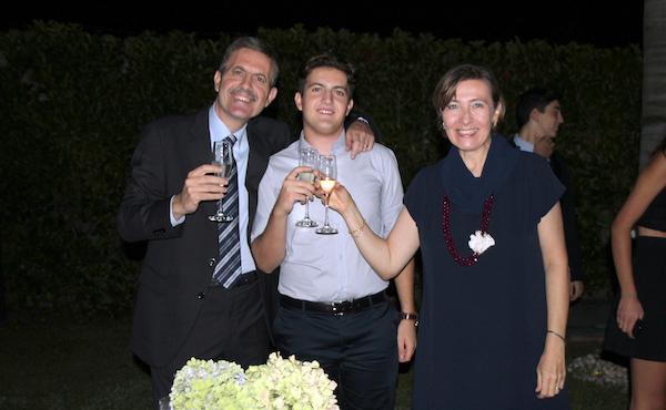 Riccardo e la sua famiglia