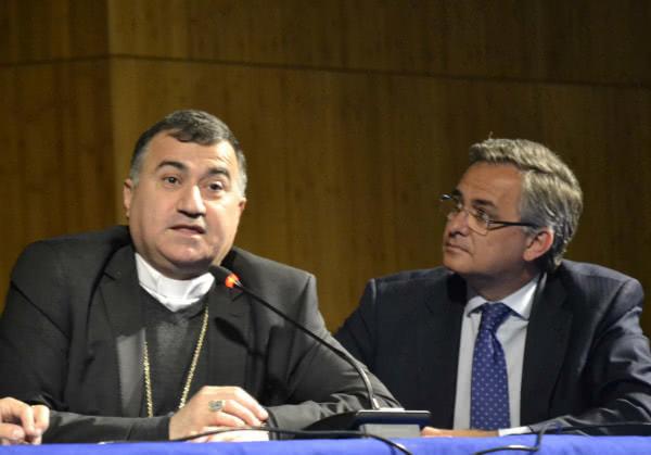Monseñor Bashar Matti Warda, Arzobispo católico de rito caldeo de Erbil (Irak)