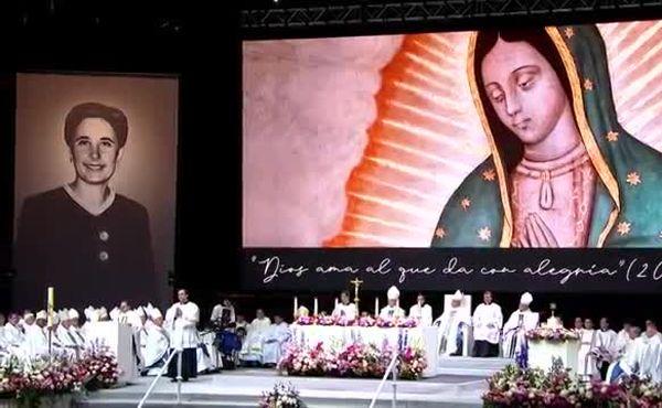 Messe de béatification de Guadalupe à Madrid