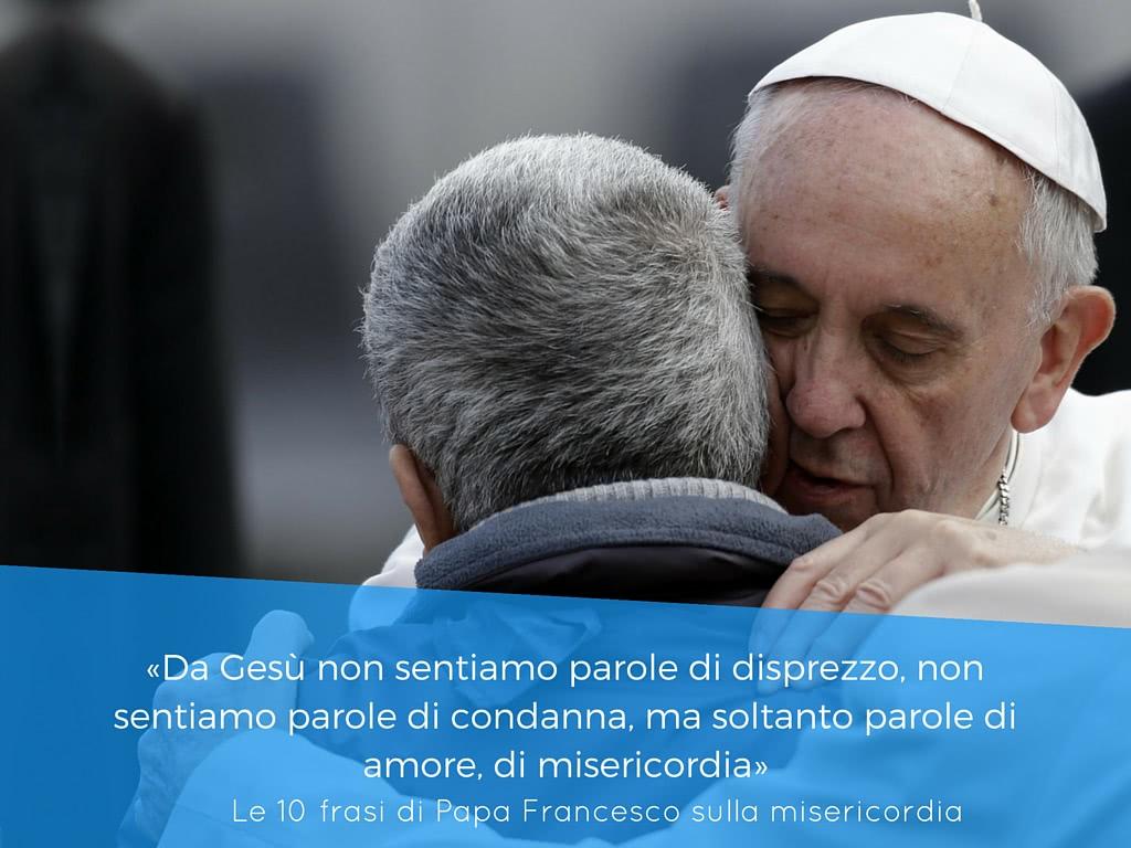 Bien connu 10 frasi di Papa Francesco sulla misericordia - Opus Dei ND99