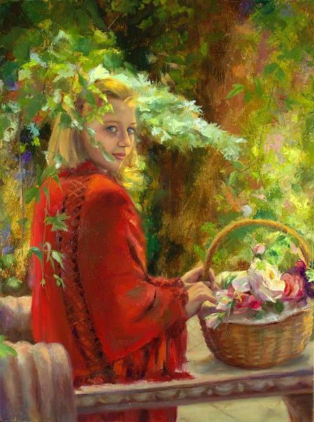 """Quiet under the trellis"" by Michelle Murray"