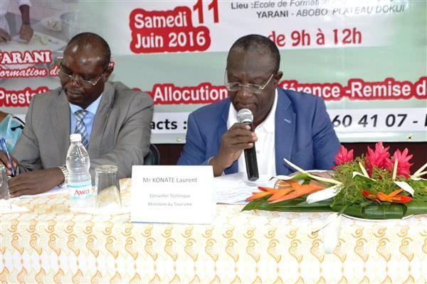 Intervention de M. Konaté Laurent, représentant le Ministre du Tourisme