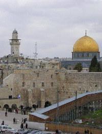 耶路撒冷圣殿城墙的未完成的片段