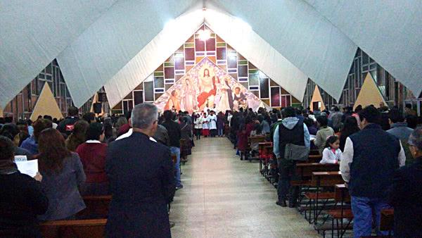 Misa de san Josemaría en Los Olivos (Lima Norte)