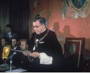 Discours académique à l'Université de Navarre, en tant que Grand Chancelier (1967)