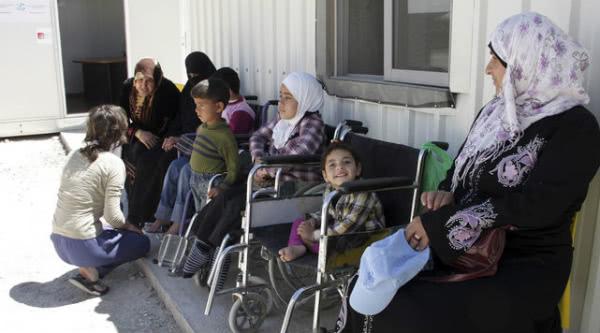 Refugiados Sirios en Jordania.
