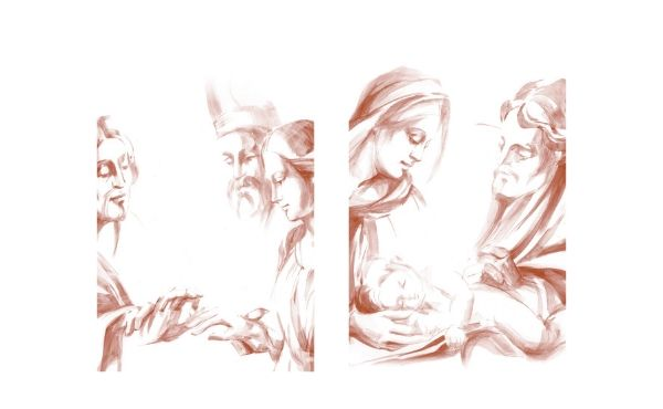 Due illustrazioni di Anna Maria Trevisan