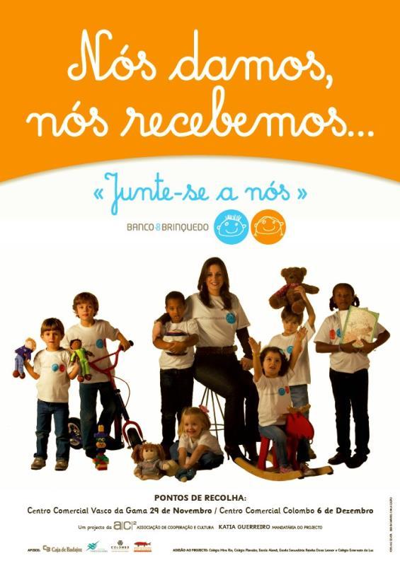 Uma campanha do Banco do Brinquedo que contou com a colaboração da fadista Katia Guerreiro