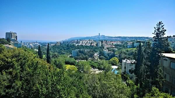 Una vista de Haifa.