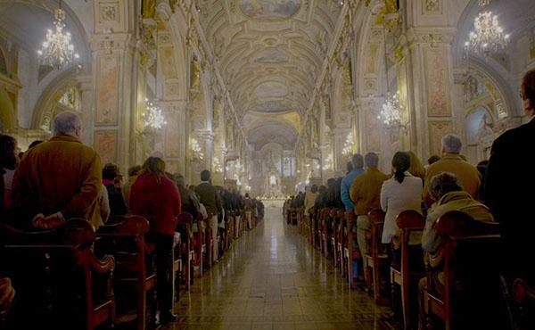 El 22 de junio se celebró la misa de San Josemaría en la Catedral de Santiago.