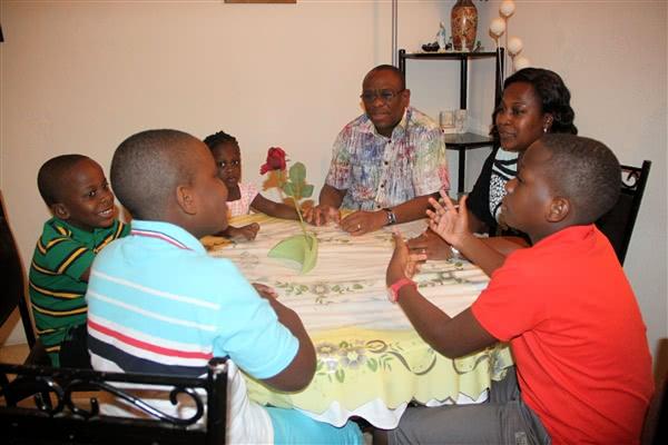 Et familiemøte