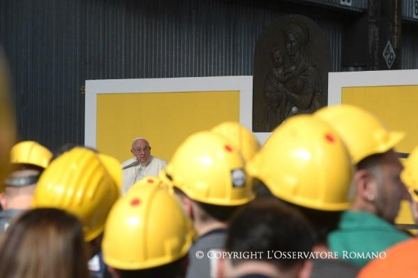 Pope Francis: Encounter with World of Work