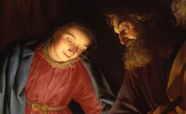 Acompanhemos o silêncio de Maria e de José.