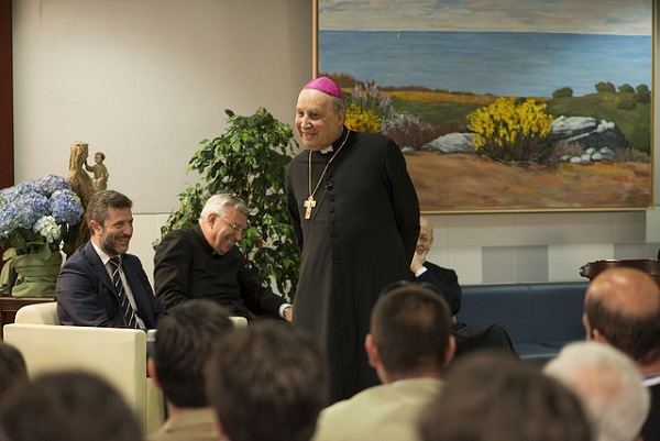 El Prelado del Opus Dei en Valencia.