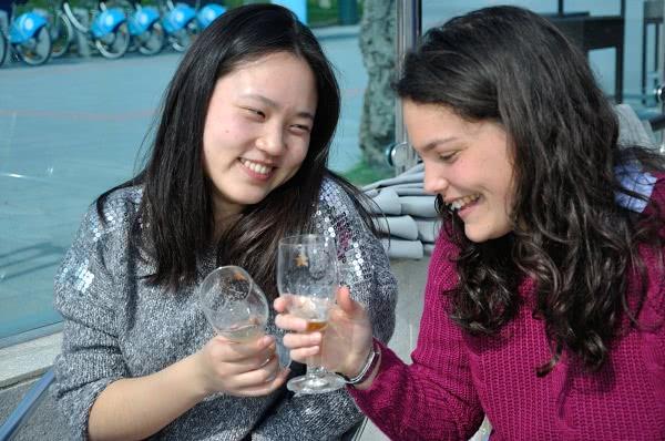 Zusammen mit Ines