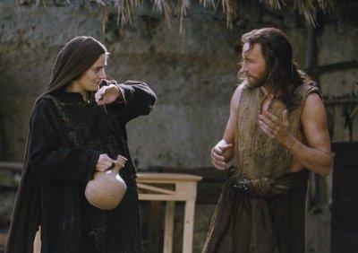 """Jésus et Marie, dans le film de Mel Gibson """"La Passion"""". Dieu s'est incarné et a vécu une vie semblable à la nôtre."""