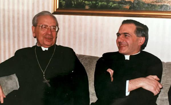 Mit dem seligen Bischof Alvaro del Portillo