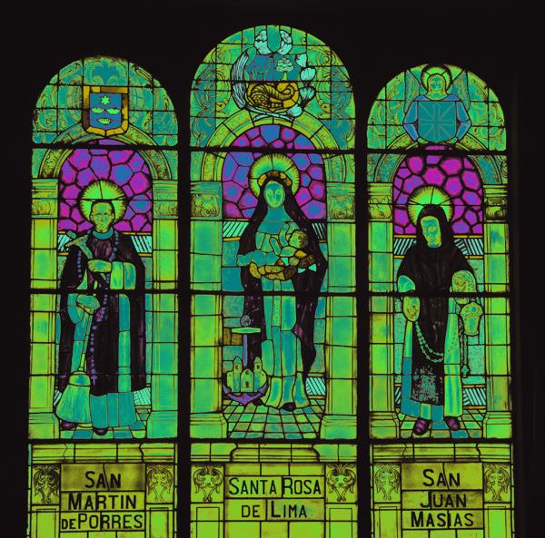 Mosaico de Santos peruanos