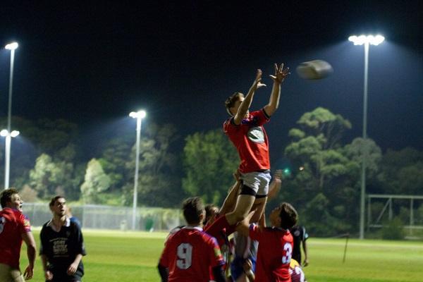 Warrane cuenta con un buen equipo de rugby.