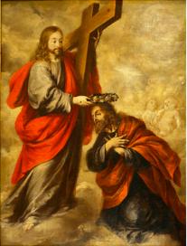 Le couronnement de Joseph : Jean Valdès (école baroque andalouse, 1670), Séville.