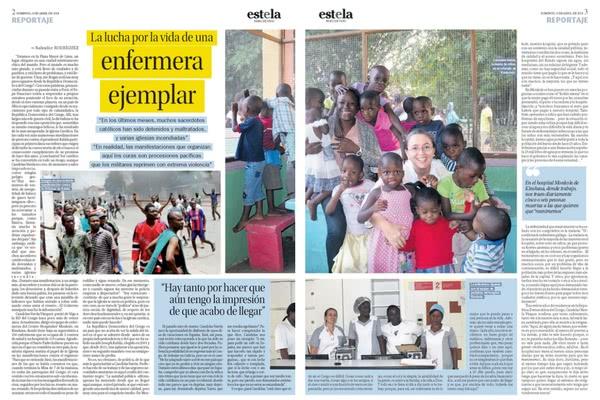 Reportaje publicado en el Faro de Vigo