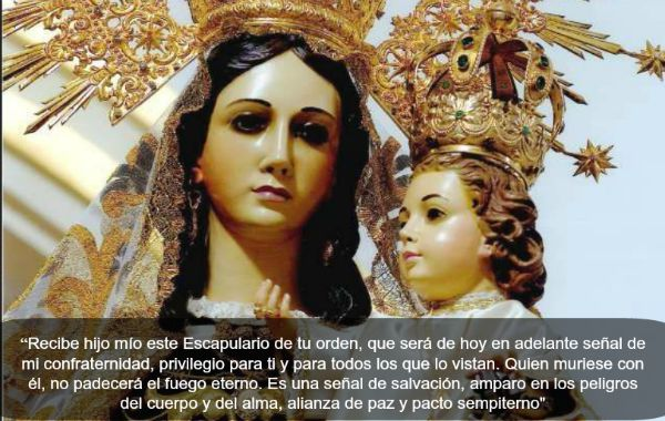 16 De Julio Fiesta De La Virgen Del Carmen Opus Dei