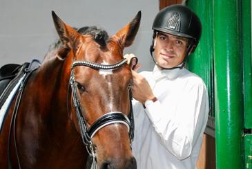 A minha paixão sempre foram os cavalos