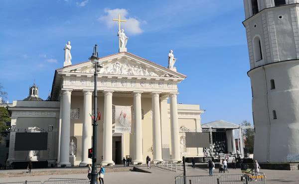 Catedral de Vilnius (Lituania).