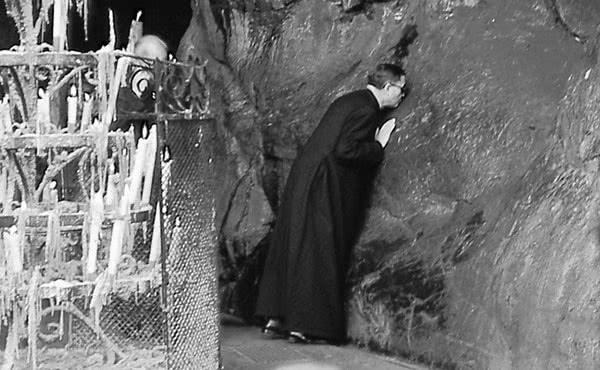São Josemaria em Lourdes, 9 de julho de 1960